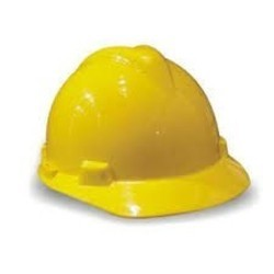 samarth yellow ordinary safety helmet