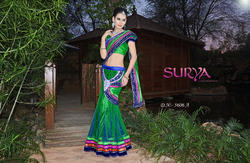 Short Pallu Saree