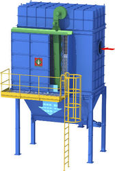 Fabric Bag Type Dust Collectors