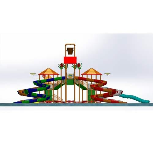 Multi Water Play System 7 Platform