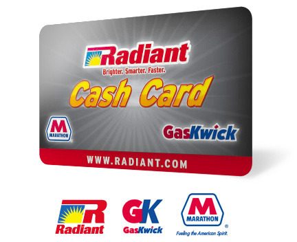 Radiant Cash Card