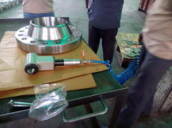 Flange Hole Deburring Machine