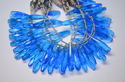 Blue topaz Beads