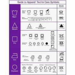 Wash Care Label