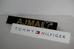 Acrylic - V Bend Shelf Talker Name Plate