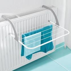 Kawachi Metal Folding Clothes Rack In Balcony Room Bathroom