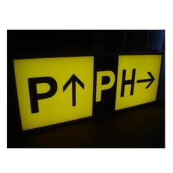 Single Face LED Airport Guidance Sign Boards