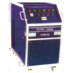 Low Vacuum Dehydration System for Lubricants