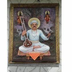 FRP Tukaram Maharaj Mural