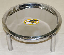 Service Tray with Pipe Stand