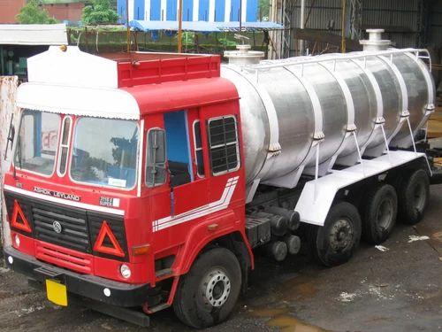 Nitric Acid Aluminum Tanker