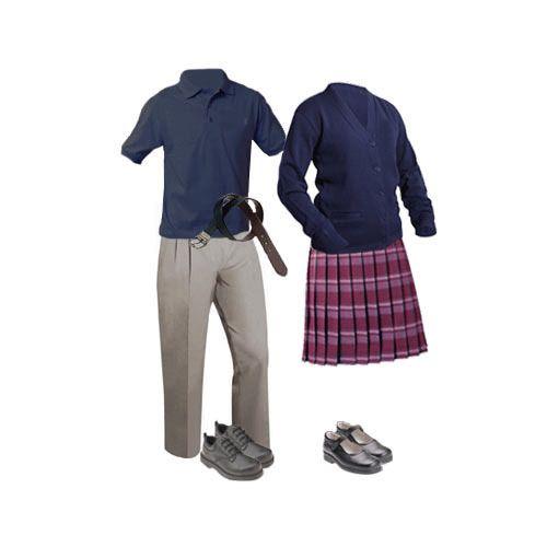 School Cotton Uniform