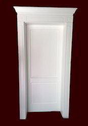 White Solid Wood Door