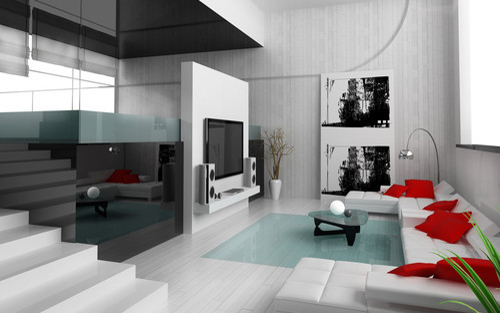 Modern Drawing Room Interior Designing