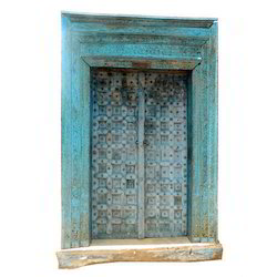 Vintage Colorful Door