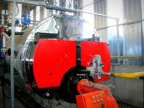 Three Pass Steam Boiler