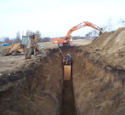 Sewer Lines Construction