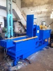 Double Action Hydraulic Scrap Baling Press