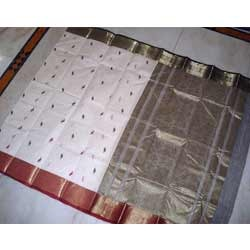 elegant handloom cotton saree
