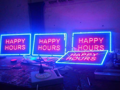 LED Dotted Signage