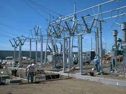 electric substation installation