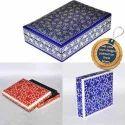 Assorted Colors Rectangular Paper Mache Keepsake Boxes