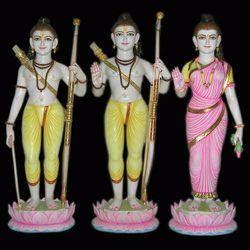 Stone Ram Darbar Statue