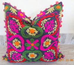 Suzani Cushion & Pillow Covers