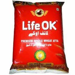 Designer Wheat Atta Packing Bag