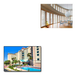 Triple Shade Blinds For Hotels