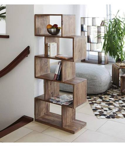 Wooden Open Display Rack