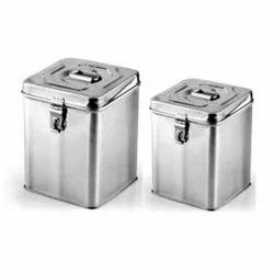 Storage Ware Stainless Steel Bucket Exporter from Mumbai