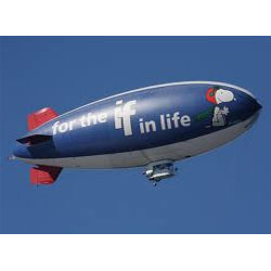 Airplane Advertising Balloon