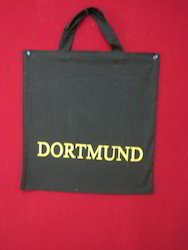 Cotton Bags With Small Handle In Black