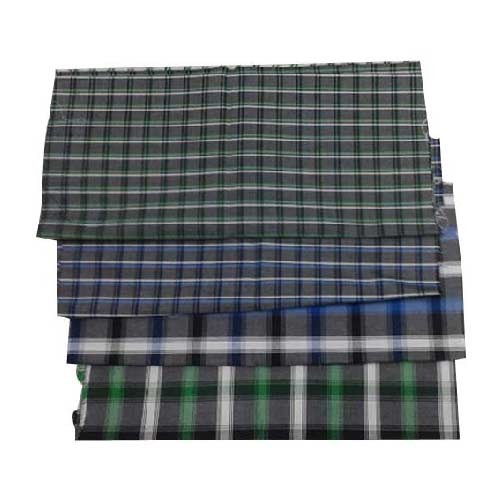 Yarn Dyed Corduroy Checks Shirting