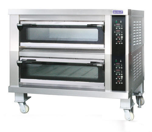 Double Deck Oven Electric / Gas Operated