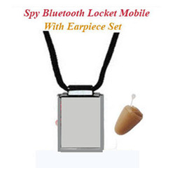Spy Locket Earpiece-No Need Of Cell Phone