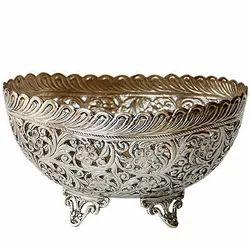 Silver Designer Bowl