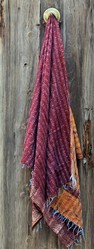 Indian Hand Crafted Vintage Silk Stole Scarf