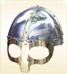 Armor Helmet Viking Mask- Deluxe