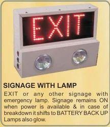 Signage Battery Backup