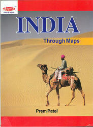 India Through Maps - Book