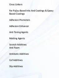 Inks Additives