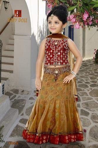 Designer Kids Lehenga Choli