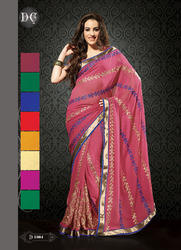Rich Looking Party Wear Designer Sarees