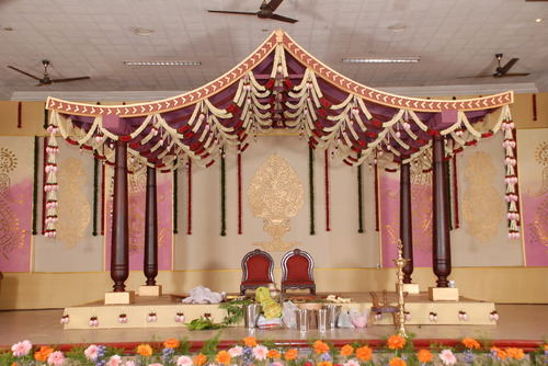 Wedding decoration pernikahan backdrop dekorasi birthday for Balloon decoration in coimbatore