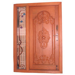 Designer doors designer door manufacturer from coimbatore for Office main door design