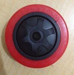 75x32 mm Red PU Wheel