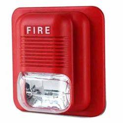 Fire Strobe(white) Siren