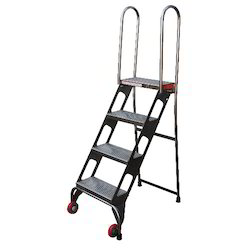Stainless Steel Tanks Movable Step Ladder